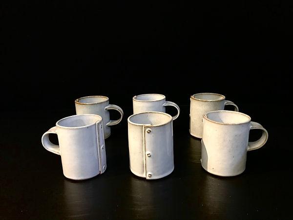 Lot 6 Alessandro Pappada, Espresso mugs.