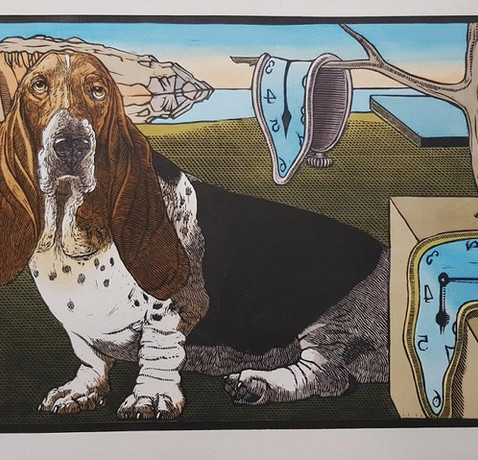 Salvador Daili's dog by Theo Paul Vorster