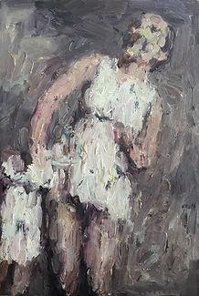 ANTON KARSTEL,Untitled (Glaube und SchÖnheid /Faith and Beauty)
