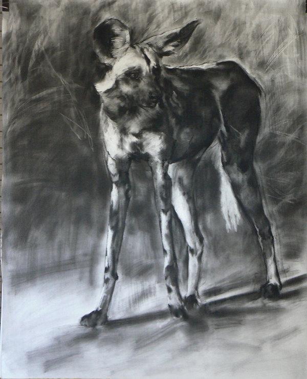 Frans Mulder _Drawing 21_Pastel and Ink