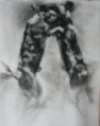 Frans Mulder_Wild Dog Drawing 03_Pastel