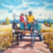 Israel Muswe, Donkey Cart