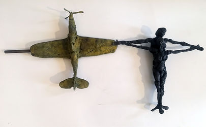 Robert Rorich, The Aeroplane and Flying Figure