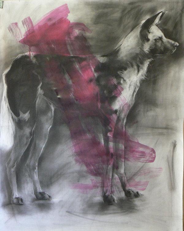 Frans Mulder_Drawing 16_Pastel and Ink o