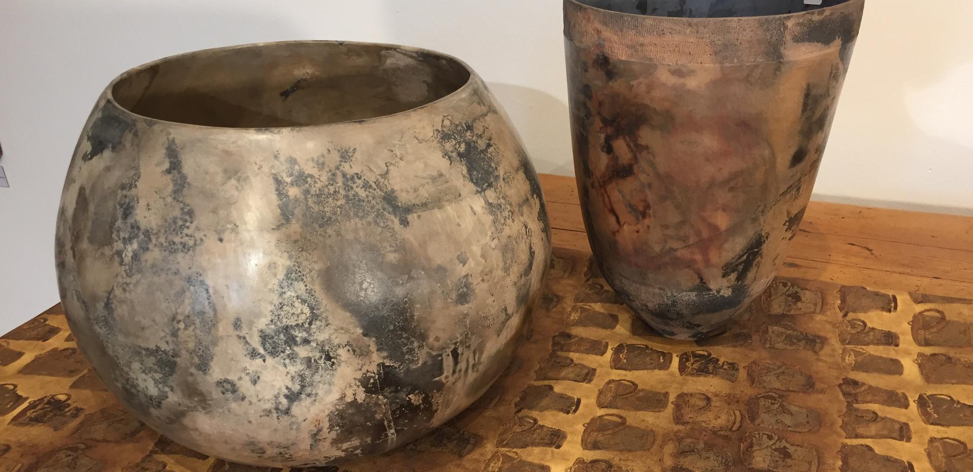 Jenny Chadwick ceramic vessels