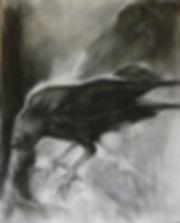 Frans Mulder_Crow Rhapsody No3_Pastel on