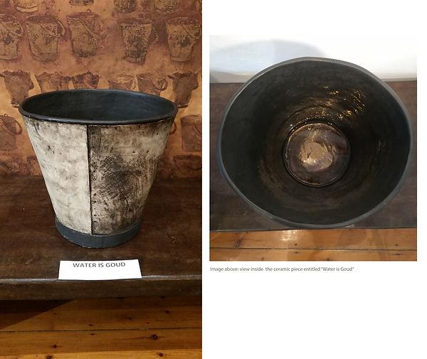Theresa Jo Water is Goud, ceramic artwor