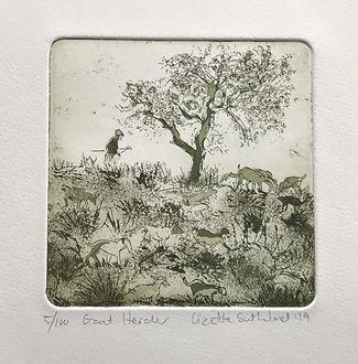 Lizette Sutherland, The Goat herder