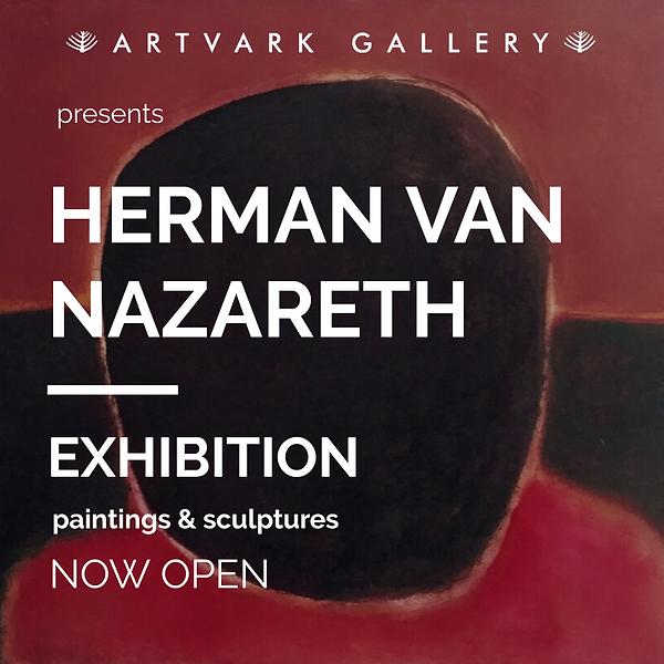 Herman van Nazareth exhibition  ad IG.pn
