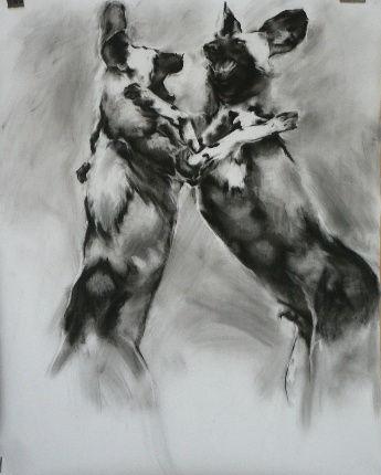 Frans Mulder _Drawing 02_Pastel and Ink