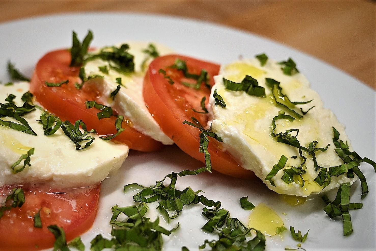 Handmade Mozzarella Caprese Salad
