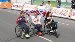 photo Gold medalist Karen Darke