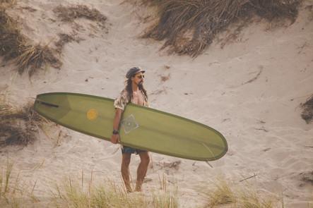 Surfer's pose