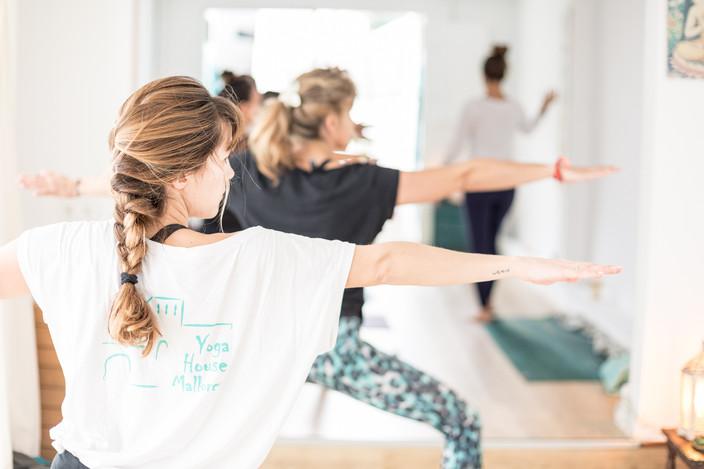Yoga photographer in Mallorca