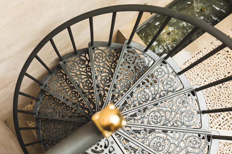 Detail of a stair