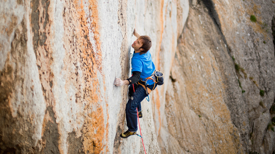 ES MIRALL 8b | the route's name meaning is the Mirror! imagine how thin and small are the holds, probably you need the stronger fingers around