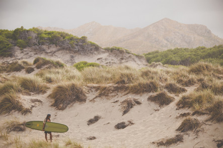 Surfing, sea and sun