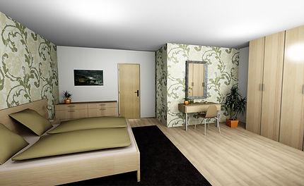 návrhy ložnice