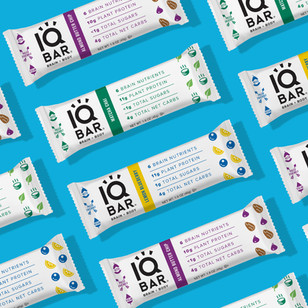 IQ Bar Logo & Packaging Design