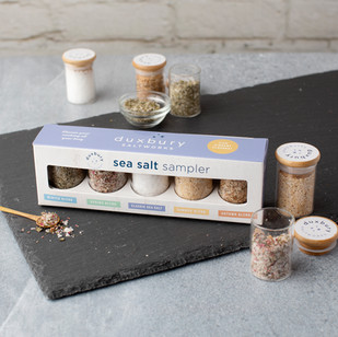 Duxbury Saltworks Sea Salt Sampler