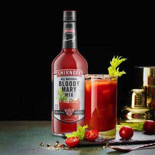 Smirnoff Bloody Mary Packaging Design