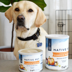 Native Pet Supplement Packaging