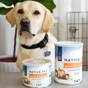 Native Pet Supplement Packaging
