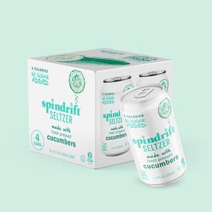 Spidrift Seltzer Packaging