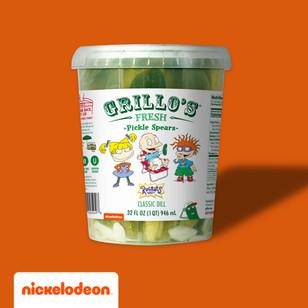Grillo's Rugrat Pickle Spears