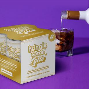 Kringle Cream Latte 4pk
