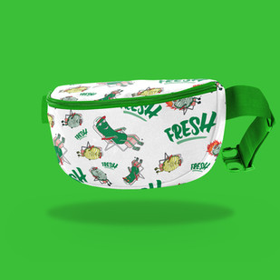 Grillo's Branded Fanny Pack