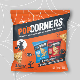 Popcorners Halloween Multipack Packaging
