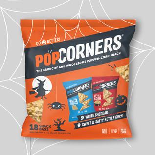 Popcorners Halloween Multipack Packaging