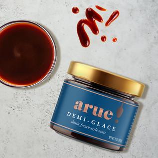 Arue Demi-Glace Packaging Design