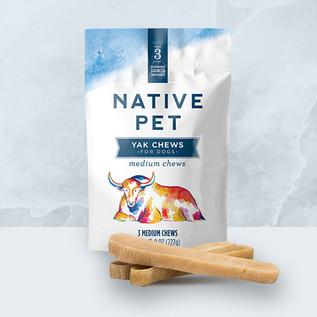 Native Pet Packaging Design