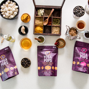 Yoga Pops Logo & Packaging Design