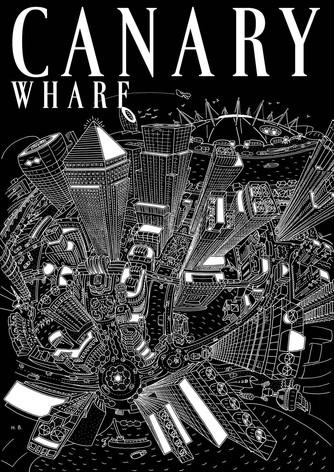 Canary Wharf Magazine Cover, 60th Anniversary