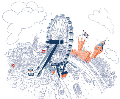The London Eye (Graphic Line)