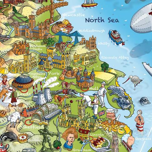 Jolly Britain - The East Coast