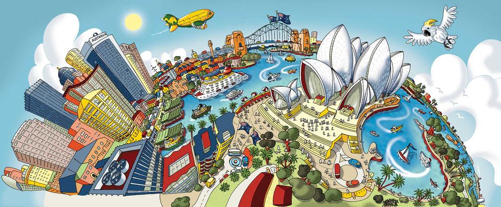 Sydney, Around The Opera House