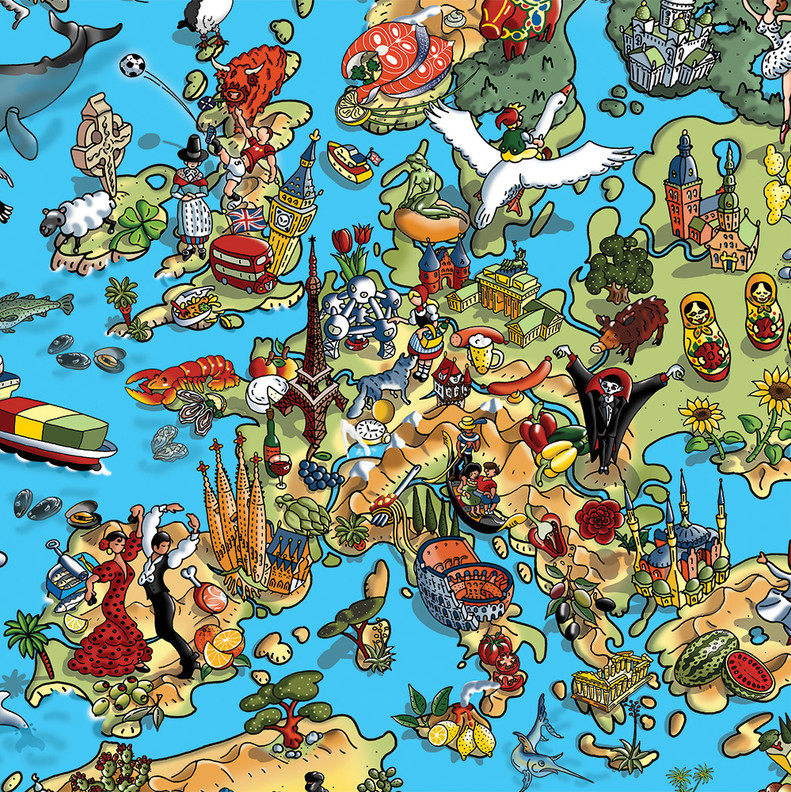 Our Wonderul Planet - Europe