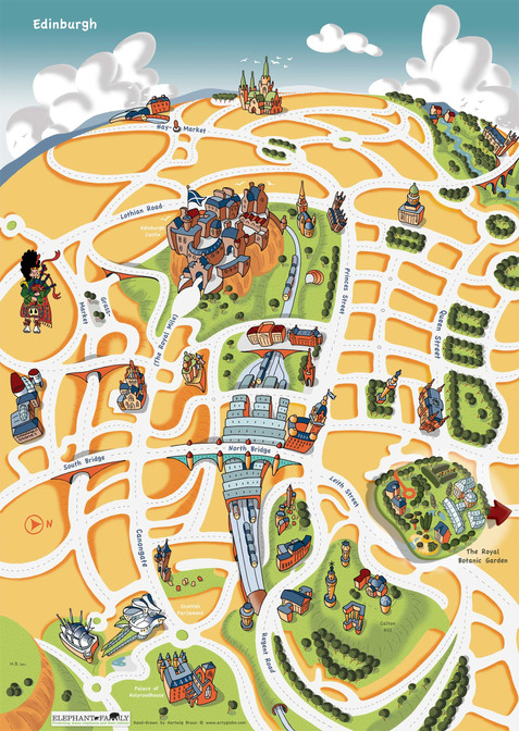Edinburgh Jungle City, Event Map