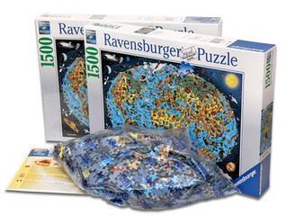 "Ravensburger 1500 piece puzzle - ""our wonderful planet"""
