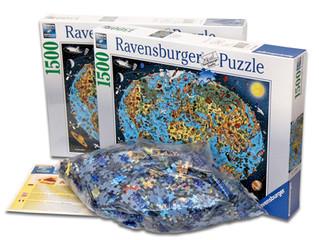 """Ravensburger 1500 piece puzzle - """"our wonderful planet"""""""