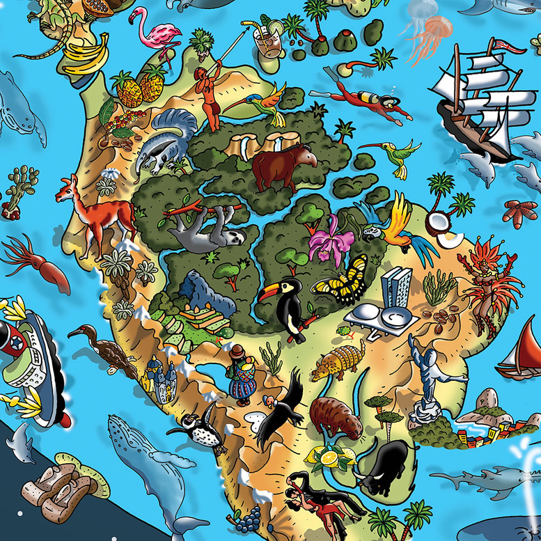 Our Wonderful Planet - South America