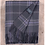 Thumbnail: Persevere Flint Grey Tartan Lambswool Full blanket