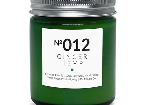 012 Ginger Hemp 6PM Candle