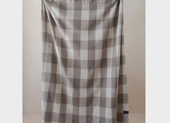 Recycled Wool Jacob Tartan full blanket