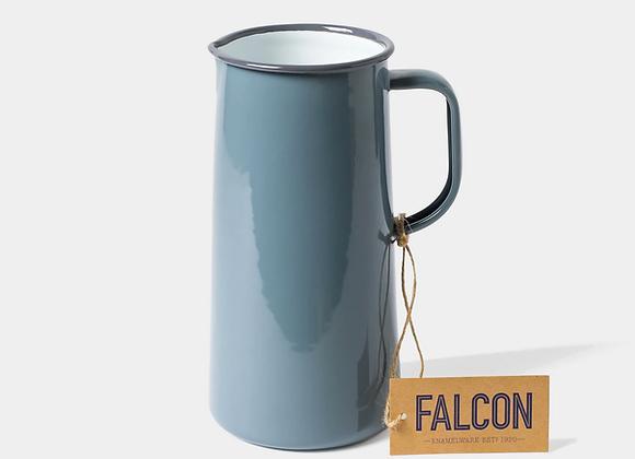 Falcon enamel 3 pint jug in Pigeon Grey