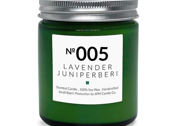 005 Lavender Juniperberi 6PM Candle